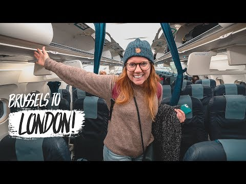 Last Minute Trip to LONDON! (Brussels, Belgium ✈️London, England)