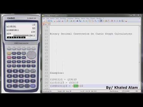 Convert hexadecimal number to binary and decimal youtube.