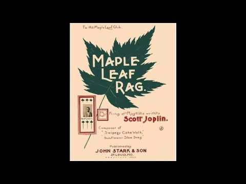 Scott Joplin - Maple Leaf Rag (1916) + piano music sheet/ download mp3