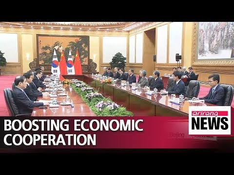22nd meeting of Korea-China Joint Economic Committee was held in Beijing on Friday after ...