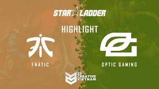 Highlight Starladder ImbaTV 2018 | Optic vs Fnatic - Bo 3