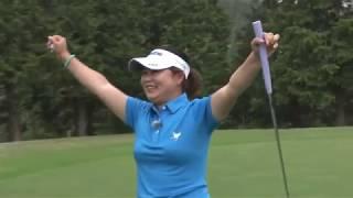 Golf Net TVエンタメchで放送中  !】 ツアー中の東浩子プロ vs モデル...