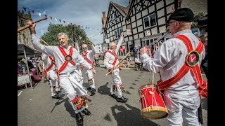 Music and dance at Alcester Street Market