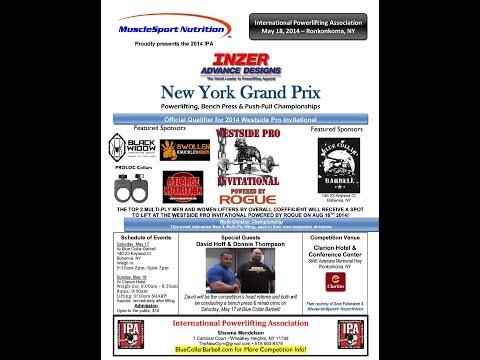 2014 IPA New York Grand Prix (Westside PRO Invitational Qualifier) LIVE STREAM!!!