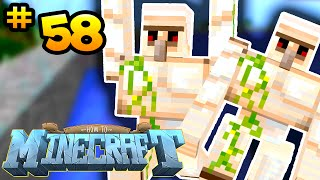 How to Minecraft: IRON GOLEM FARM! (58) - w/ PrestonPlayz