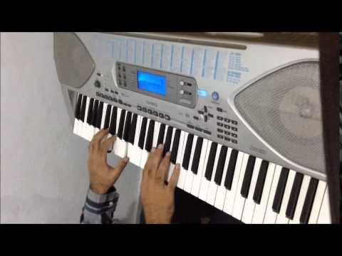 Atif Aslam - Aadat  Piano Cover with Lyrics