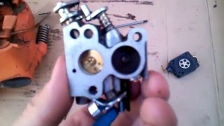 Husqvarna 236 ремонт карбюратора(замена ремкоплекта)(Замена ремкомплекта карбюратора на бензопиле Husqvarna 236., 2016-01-18T13:46:26.000Z)