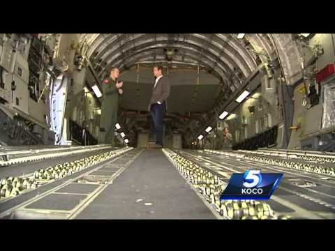 C-17 Globemaster one of two specialized aircraft at Altus Air Force Base