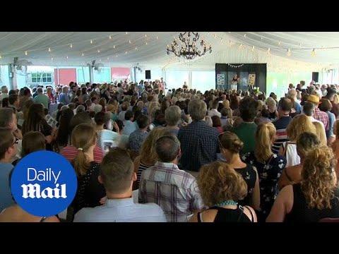 Hundreds attend funeral of Capital Gazette journalist Rob Hiaasen