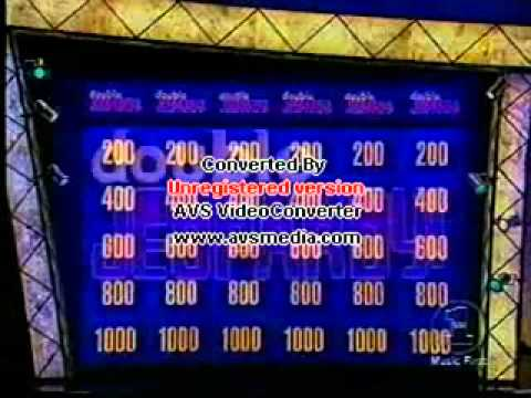 MEGADETH/ Dave Mustaine Jeopardy 2014 - YouTube