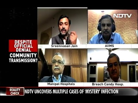 Dr. H Sudarshan Ballal | Panel Discussion with NDTV 24x7 on COVID19 | Manipal Hospitals India