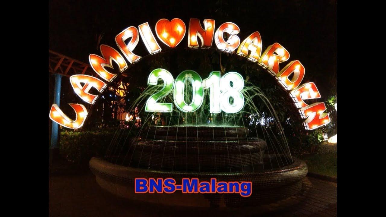 Malang - Batu Night Spectacular (BNS), Wahana malam di ...