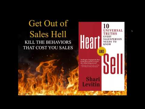 Get Out of Sales HELL from Shari Levitin