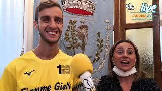 Il giovane marciatore olimpico Francesco Fortunato torna da Tokio: accolto a Palazzo di Città