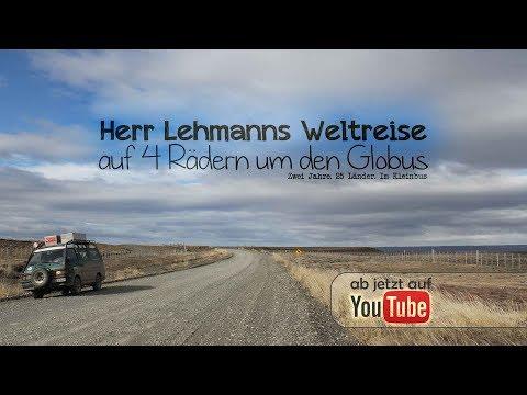 Herr Lehmanns Weltreise - auf 4 Rädern um den Globus FULL MOVIE 90MIN Roadmovie Vanlife Film
