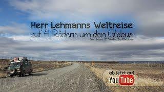 Herr Lehmanns Weltreise - auf 4 Rädern um den Globus [FULL MOVIE] [90MIN] [Roadmovie] [Vanlife Film]