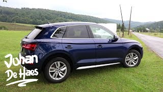 Audi Q5 2017 exterior and interior