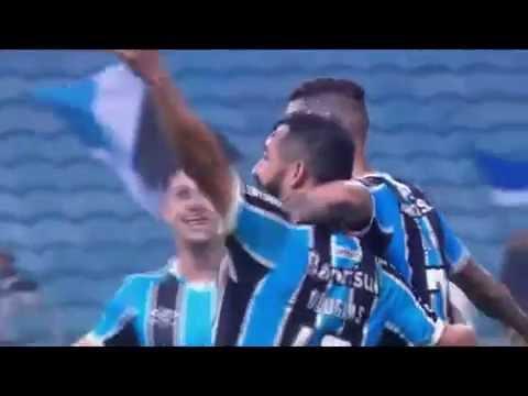 Grêmio 3 x 2 Santos Brasileirão 29/06/2016