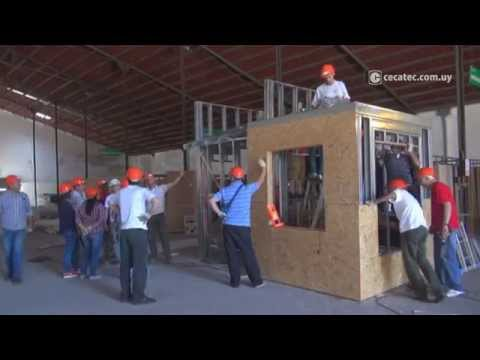 Curso práctico Instalador de Steel framing (Salto)