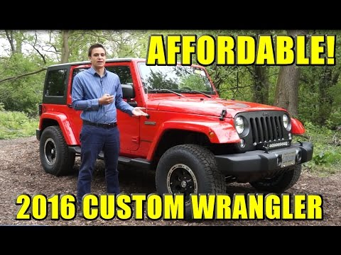 AFFORDABLE CUSTOM 2016 JEEP WRANGLER!  Started as an Oscar Mike, TRANSFORMED!