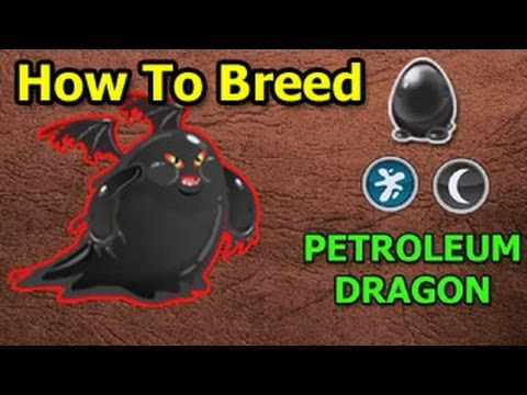 How To Breed Petroleum Dragon In Dragon City Guide Youtube