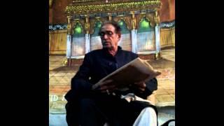 Mir anees marsiya by Zulfeqar Hussain Parbhani