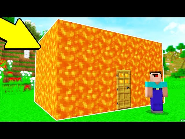 TURNING A HOUSE INTO LAVA PRANK.. (MINECRAFT TROLL WARS #4)