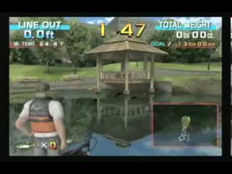 SEGA Bass Fishing Video Arcade Game - Review - BMI Gaming - Sega - GT Reviews