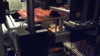 HD^2 3D Printer Creating a Calibration Cube