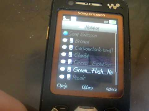 Sony Ericsson w890i Tuning