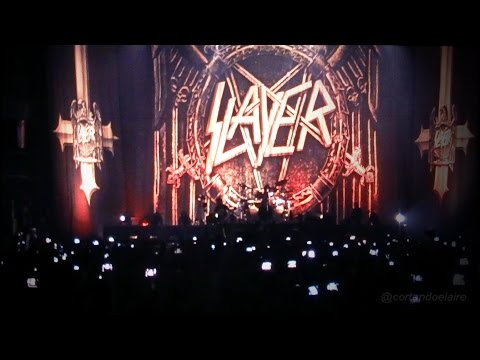 Slayer - South of heaven + Raining blood + Black magic (Movistar Arena, Chile, Mayo 2017)