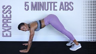 Express 5 Minute Ab Workout | Nonstop