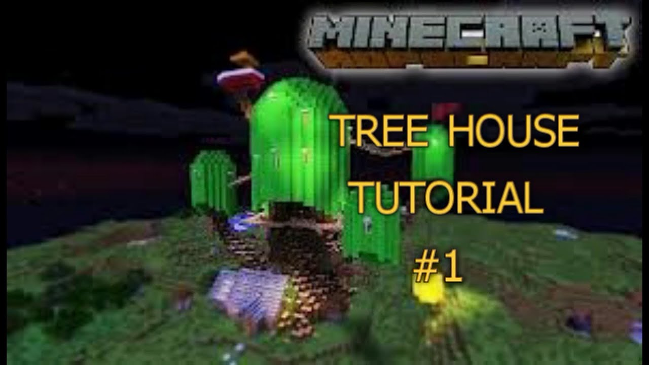Minecraft Adventure Time Tree House Tutorial #1 YouTube