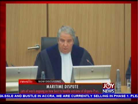 Martime Dispute - Newsfile on JoyNews (23-9-17)