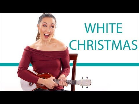 White Christmas - Easy Ukulele Tutorial for Beginners with Play Along