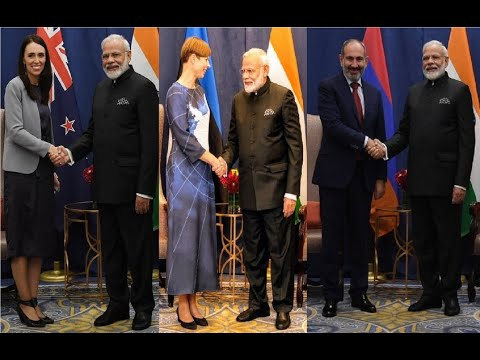 PM Modi's Diplomatic Blitzkrieg, Meets New Zealand, Estonia, Armenia Leaders