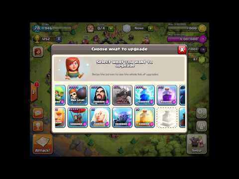 Clash of Clans - How I Spend 5000 Gems!