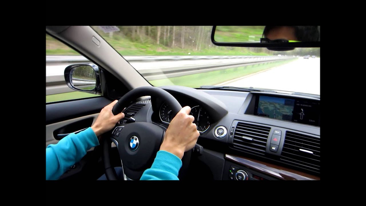 driving a bmw 135i coupe on the autobahn from bmw on demand at bmw welt munich youtube. Black Bedroom Furniture Sets. Home Design Ideas