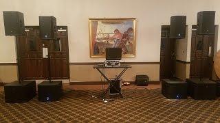 Electro-Voice EKX vs ETX - 12P & 15SP Sound Check Vlog