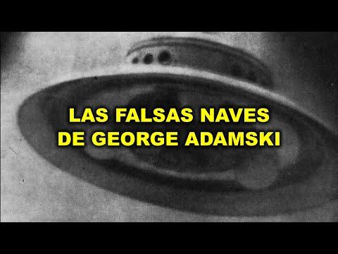 GEORGE ADAMSKI y sus falsas naves extraterrestres