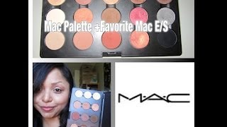 Mac Palette+ Fav. Mac E/S + Chit Chat on Nails+ Youtube Thumbnail