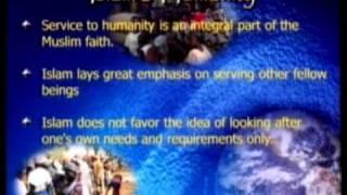 Ahmadiyya Muslim Community in Service of Humanity 1\2