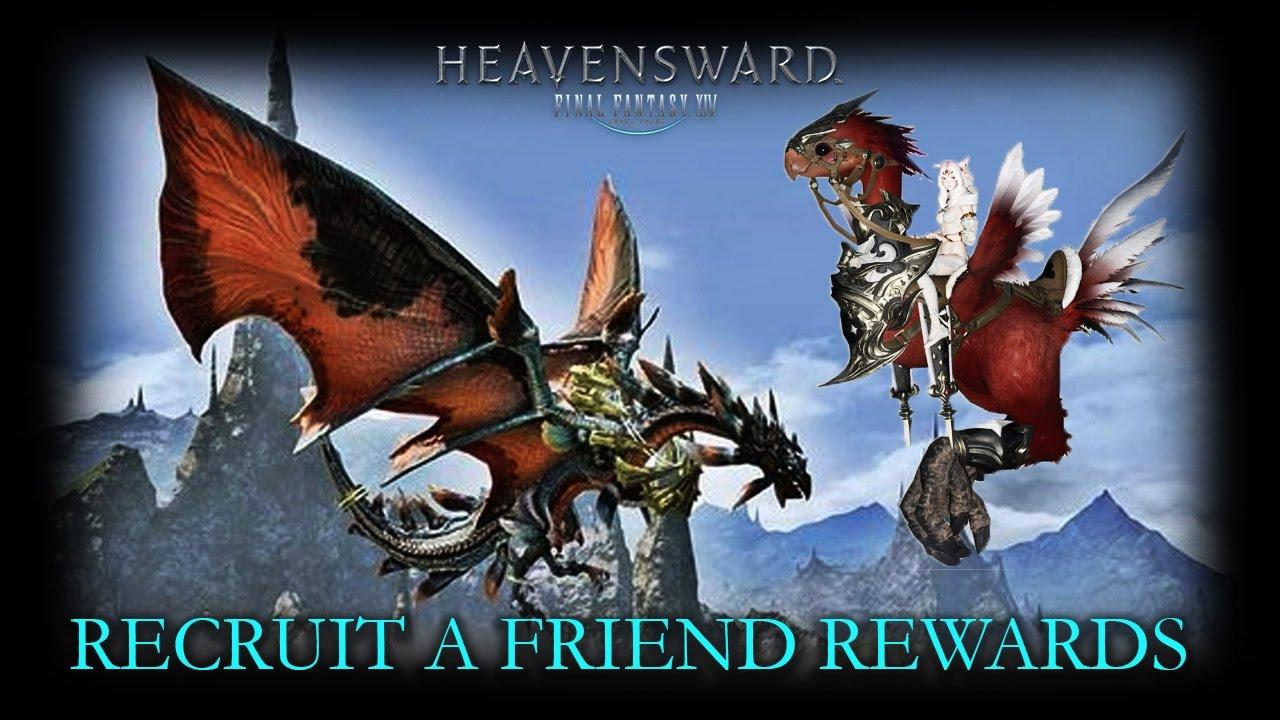 FFXIV | Recruit a Friend Rewards