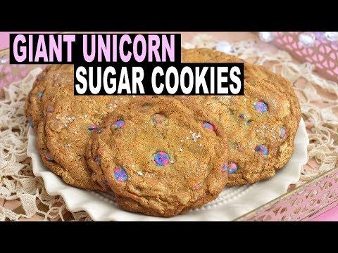 giant-unicorn-sugar-cookies-|recipe|