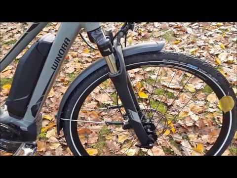Bici Elettrica Trekking Yamaha Batteria 500 Wh Winora A Pedalata Assistita