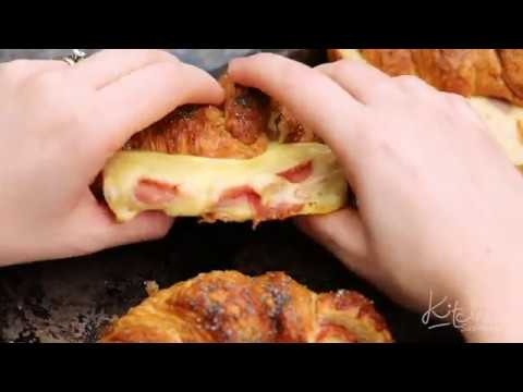 Delicious Ham and Cheese Croissants