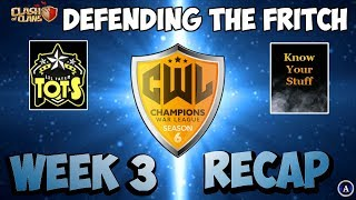 Clash of Clans: CWL Week 3 | Yes You CAN Defend Against the Fritch!