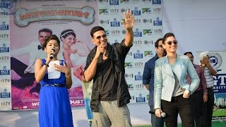 Akshay Kumar & Tamanna Bhatia at SGT University