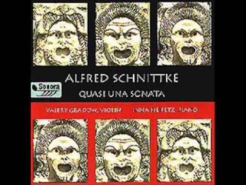 Alfred Schnittke Suite In Old Style, Valery Gradow, violin / Inna Heifetz, piano