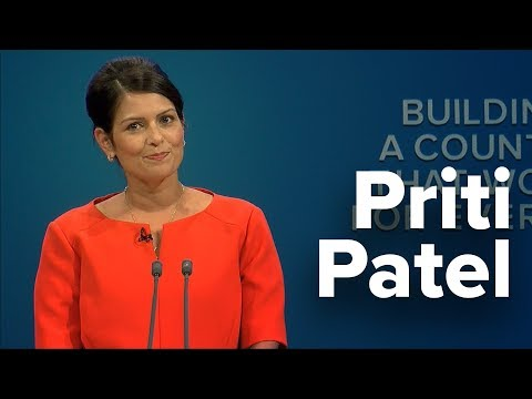 Priti Patel: Speech to Conservative Party Conference 2017
